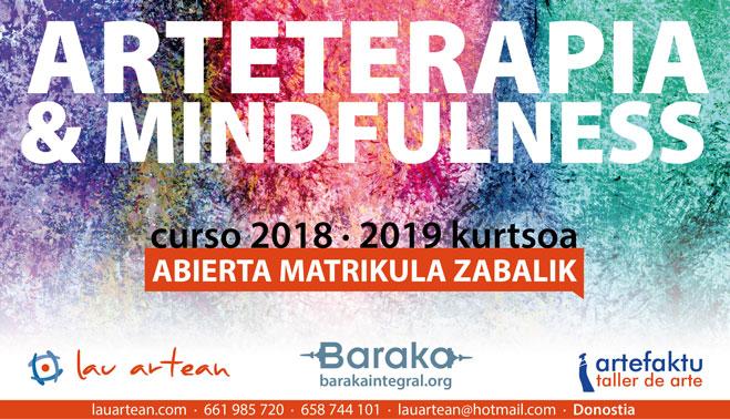 Formación en Arteterapia y Mindfulness Lauartean