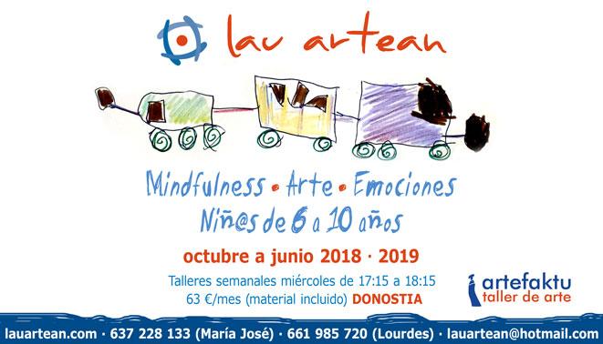 Talleres para  niñ@s mindfulness, arte y emociones